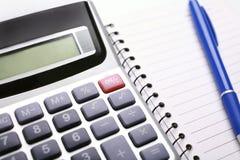 Analyzing financial data Royalty Free Stock Image