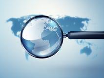 Analyzing world Stock Images