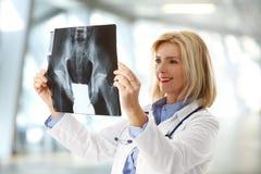 Analyzing x-ray image Royalty Free Stock Image