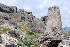 Anamurium necropolis  ancient cemetery - Ananur - Turkey Stock Image