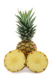 Ananas. Isolated on white background stock image