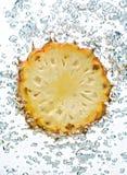 Ananas in acqua Fotografie Stock