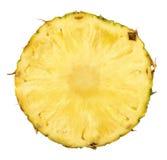 Ananas affettato fotografia stock libera da diritti