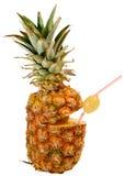 Ananas als Getränk Stockfoto