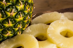 Ananas of ananasclose-up Stock Fotografie