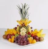 Ananas arancio della mela della frutta fresca Immagine Stock