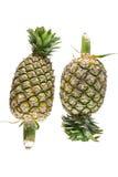 Ananas auf weißem Hintergrund Lizenzfreies Stockfoto