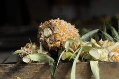 Ananas bij de Markt Lamdin in Chaweng Royalty-vrije Stock Foto