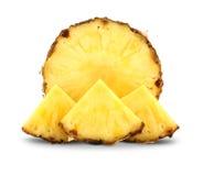 Ananas con le fette Fotografia Stock