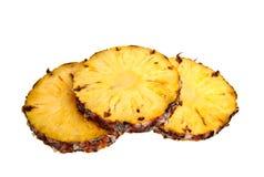 Ananas contro una priorità bassa bianca Fotografia Stock Libera da Diritti