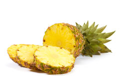 Ananas coupé en tranches Photo stock