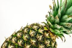 Ananas d'isolement sur le fond blanc Fruit d'été Image libre de droits