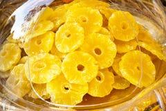 Ananas de Dehydratated Photos libres de droits