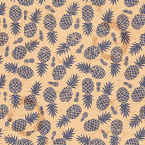 Ananas de vintage sans couture illustration stock