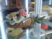 Ananas del gelato Fotografia Stock