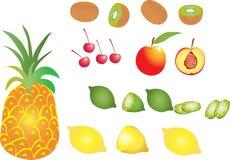 Ananas della frutta Immagini Stock Libere da Diritti