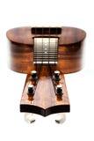 Ananas delle ukulele Fotografia Stock Libera da Diritti