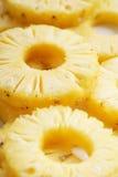 Ananas details van verse ananas Stock Afbeeldingen