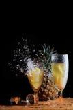 Ananas di esplosione Immagini Stock Libere da Diritti