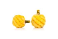Ananas die op wit wordt geïsoleerdT Stock Foto