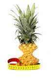 Ananas dimagrito Fotografia Stock