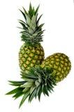Ananas due Fotografia Stock Libera da Diritti