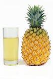 Ananas e spremuta Immagine Stock