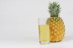 Ananas e spremuta Immagini Stock