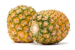 Ananas en plan rapproché Images stock