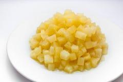 Ananas en sirop photos libres de droits