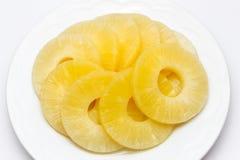 Ananas en sirop Photos stock