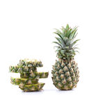Ananas frais Photo stock