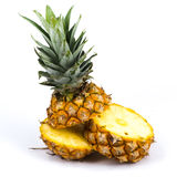 Ananas frais de sclie Photographie stock