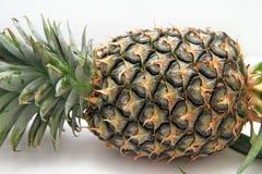 Ananas fresco con il fondo bianco dell'isolato Immagini Stock