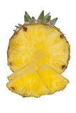 Ananas fresco della fetta Fotografia Stock Libera da Diritti