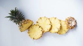 Ananas Frische Ananas Stockbild