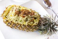 Ananas gebraden rijst Stock Foto