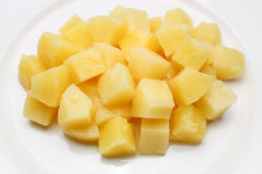 Ananas i sirap Royaltyfria Foton