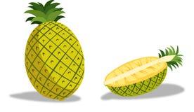 Ananas jest wyśmienicie tropikalnym owoc Fotografia Stock