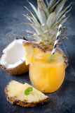 Ananas juice Stock Photography