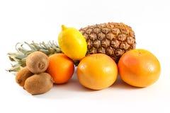 Ananas kiwi oranges Royalty Free Stock Photography