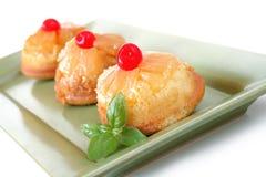 Ananas-Kuchen Stockfotos