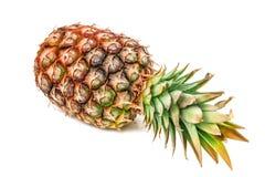 Ananas mûr juteux sur le blanc photographie stock