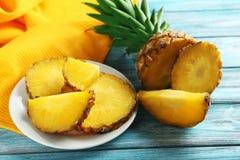 Ananas maturi fotografia stock libera da diritti