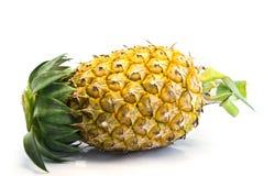 Ananas maturo su fondo bianco Fotografie Stock