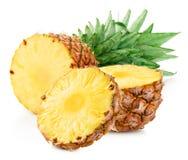 Ananas med skivor Royaltyfria Foton