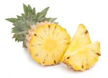 Ananas met plakken Stock Afbeelding