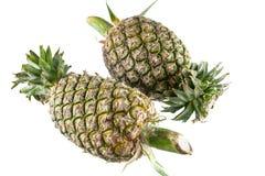 Ananas na białym tle Zdjęcia Royalty Free