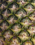 Ananas-Nahaufnahme Stockfotografie