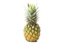 Ananas op witte achtergrond Royalty-vrije Stock Fotografie